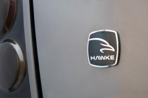 Land Rover Freelander 2 'HAWKE' Vitreous Enamelled Badge